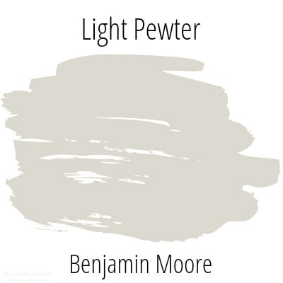 Exploring Benjamin Moore Light Pewter Paint Color