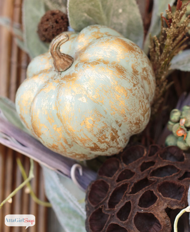 51 Cute Painted Pumpkin Ideas - Atta Girl Says Metallic Pumpkins