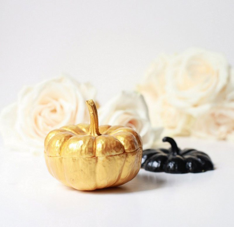51 Cute Painted Pumpkin Ideas - Posh Little Designs Mini Pumpkin Vases