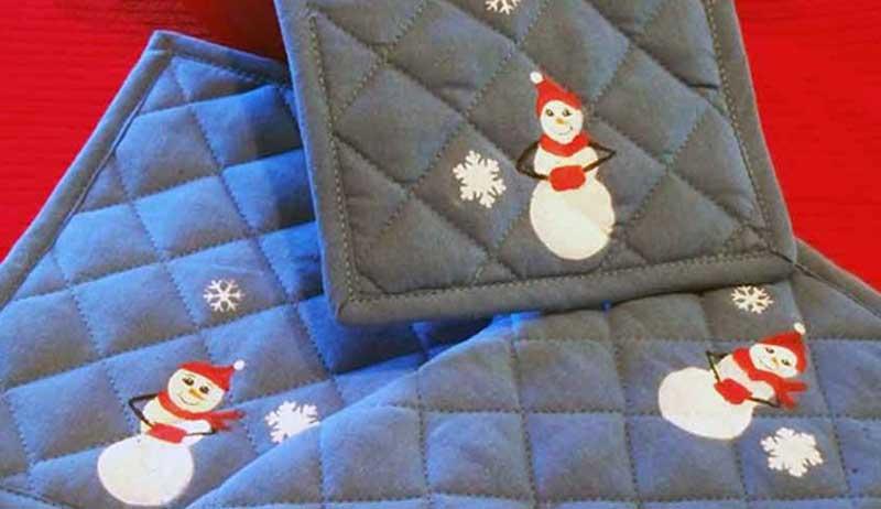 51 CUTEST Snowman Crafts | snowman pot holder craft