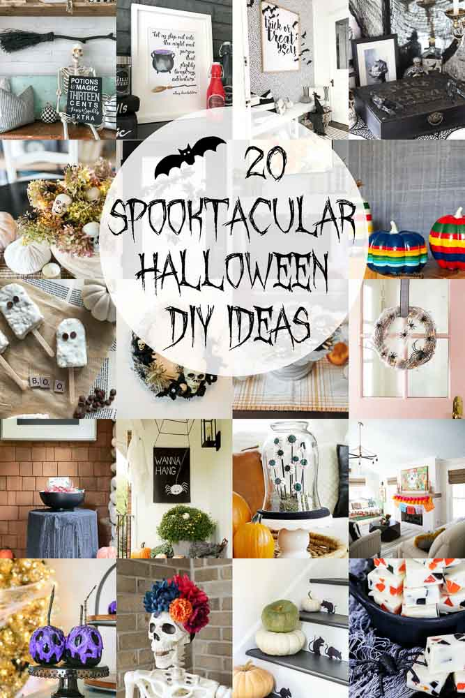 20 SPOOKTACULAR Halloween DIY Projects To Try This Fall!