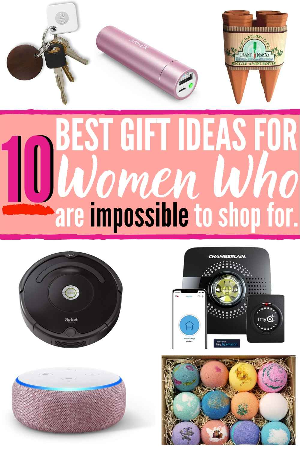 10 BEST Gift Ideas For Women Who Are Impossible To Shop For