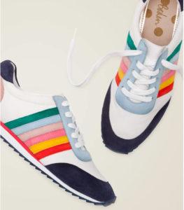 Boden Rainbow Sneakers