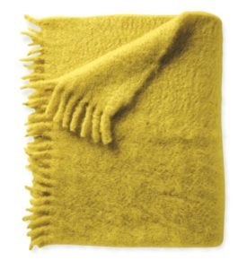 Mohair Throw in Yarrow from Serena & Lily