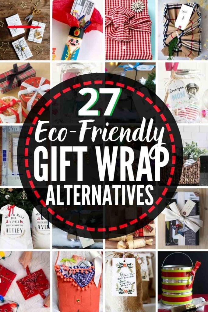 27 BEST Eco-Friendly Gift Wrap Alternatives!