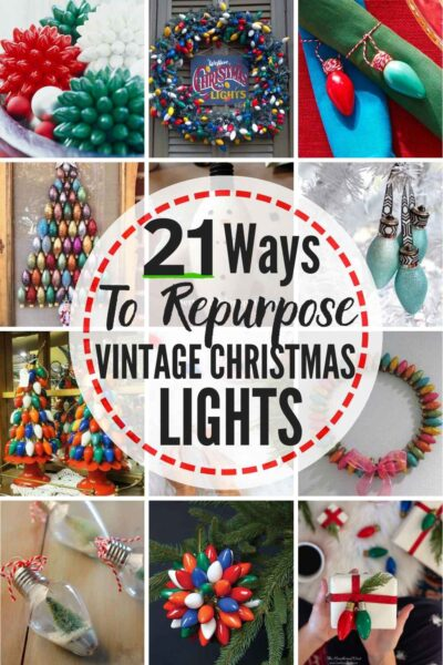 21 Vintage Christmas Lights Ideas