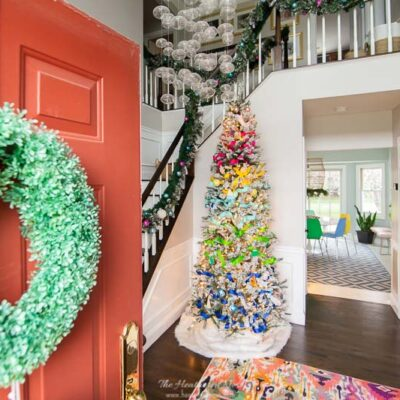 2019 Colorful Christmas Home Decorating Tour