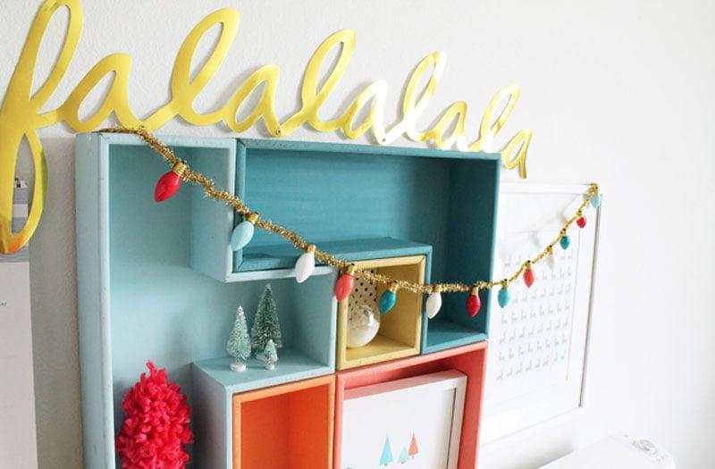 21 BRIGHT Ideas for Reusing Vintage Christmas Lights | DIY Garland