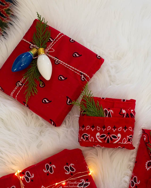 Vintage Christmas Bulbs Repurposed As Eco-Friendly Christmas Gift Tags (or Gift Toppers)