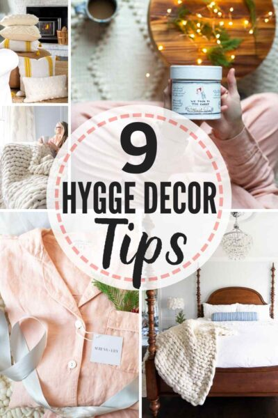 9 tips for winter hygge decor