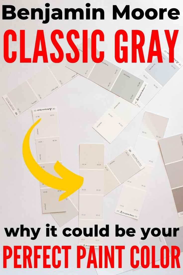 Benjamin Moore Classic Gray