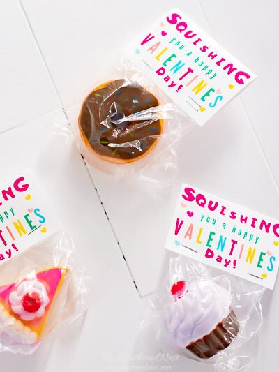 Squishy Valentines for Kids Valentines Day Parties! Grab these free printable valentine cards!