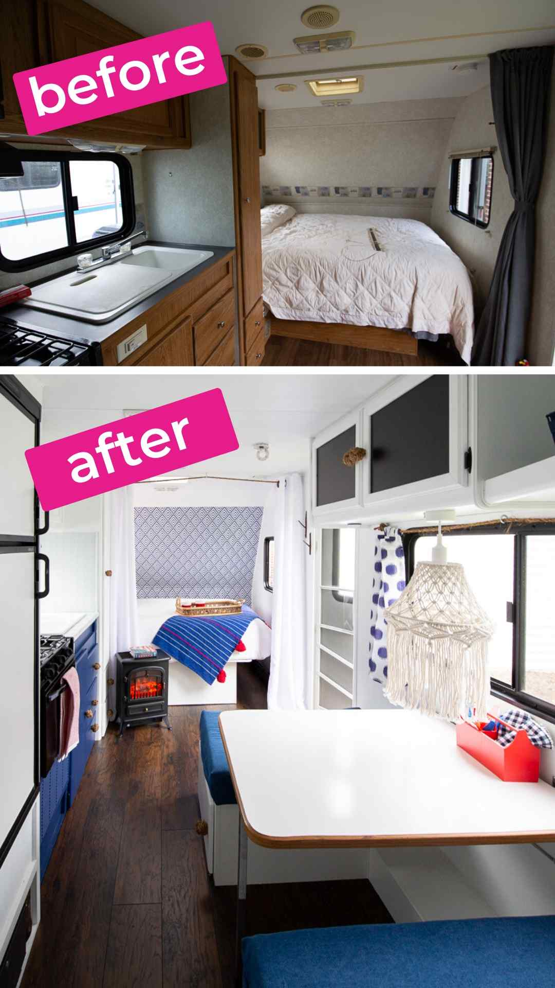 camper before and after interior 2