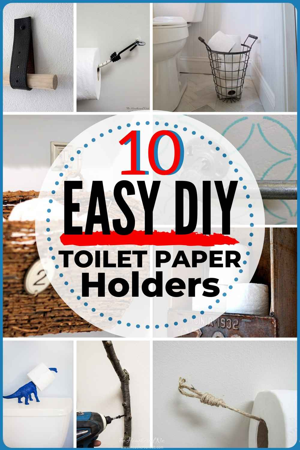 Diy And Inexpensive Toilet Paper Holder Ideas Back To Basics Series