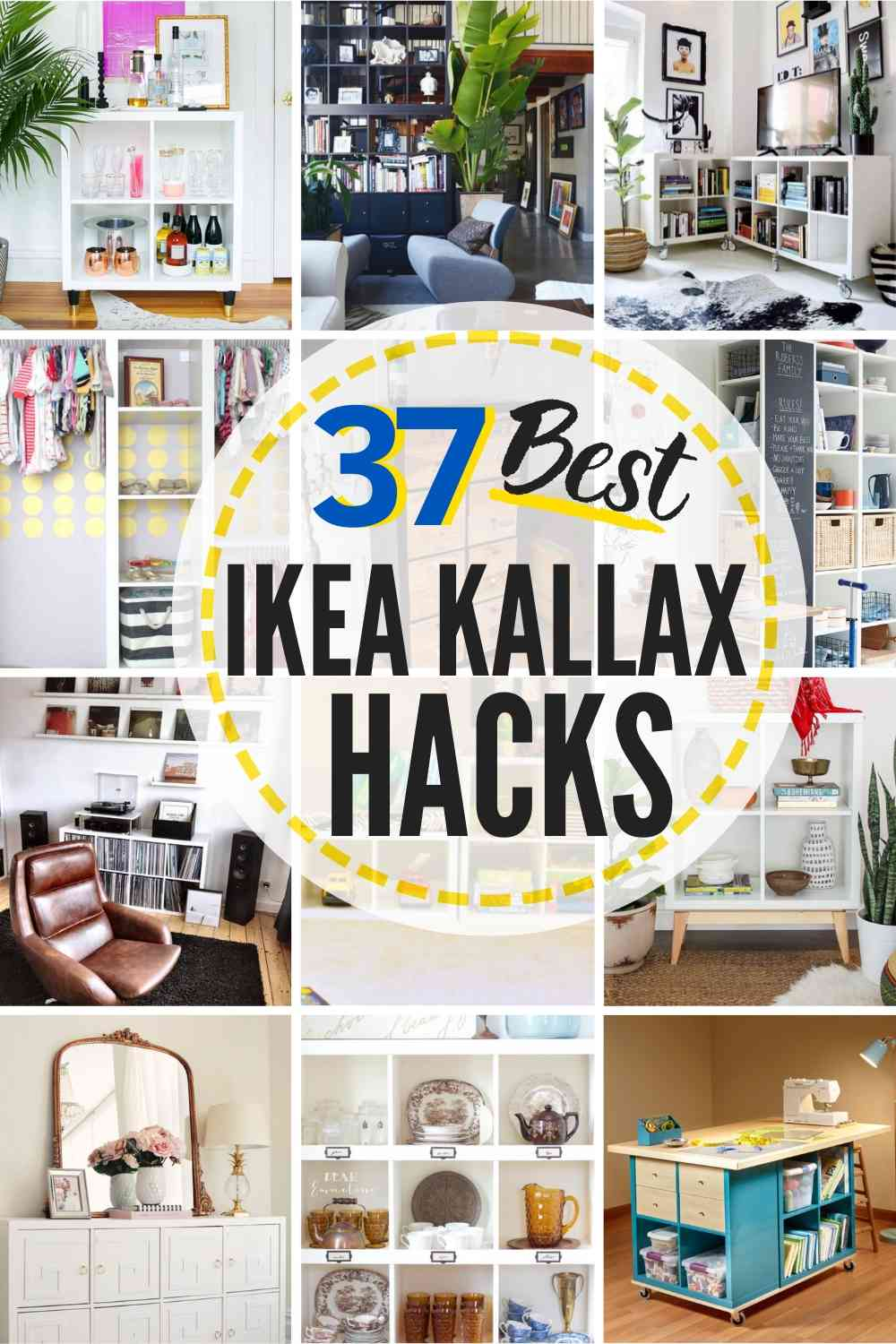9 Ikea Kallax Hack Ideas That Will Blow Your Mind  The Heathered