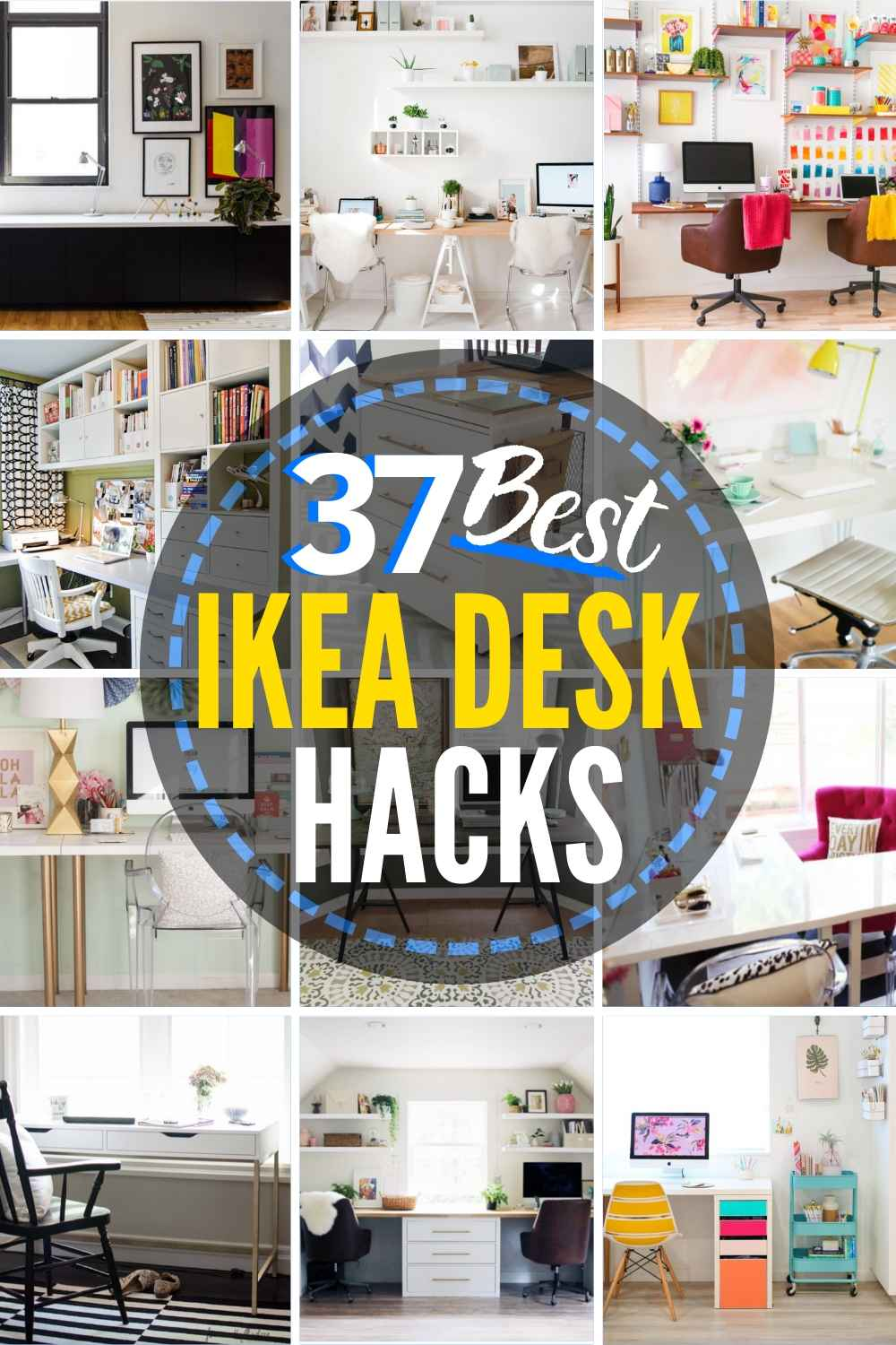 37 Outstanding IKEA desk hacks!