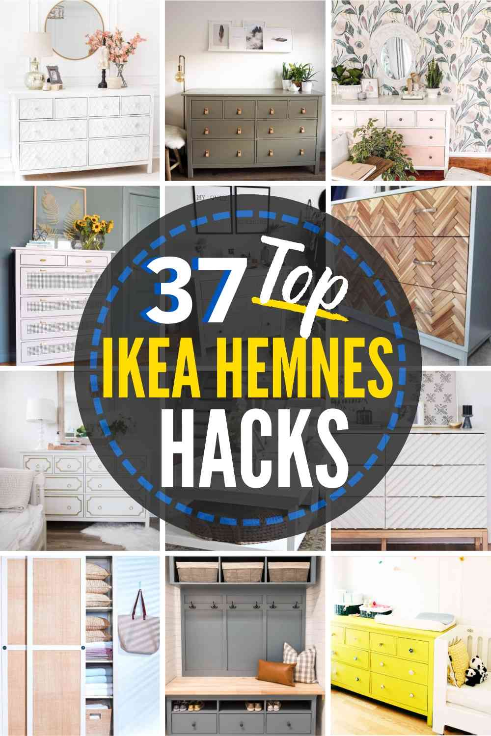 These 37 IKEA HEMNES HACKS are Seriously Stunning