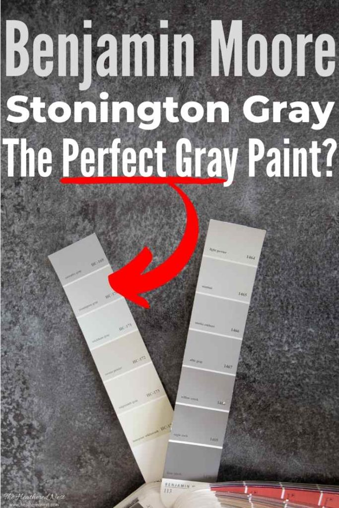 All About Benjamin Moore Stonington Gray! See it in 28 real homes so you can decide for yourself whether it's the right gray for your home!