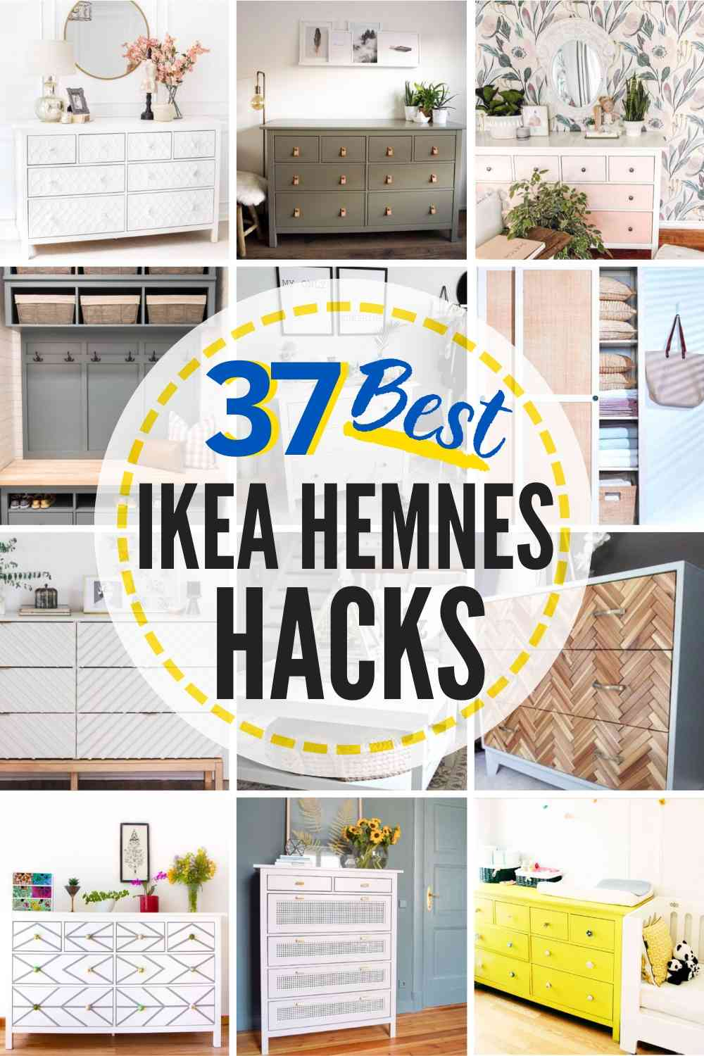 37 Ikea Hemnes Hack Ideas You Can Make Now The Heathered Nest