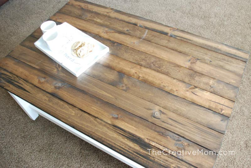 Rustic Hemnes coffee table
