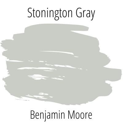 Benjamin Moore Stonington Gray Swatch - A Popular Gray from Benjamin Moore. An exploration of paint color.