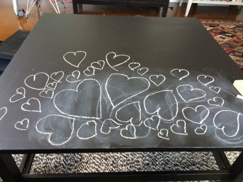 blackchalk hemnes table