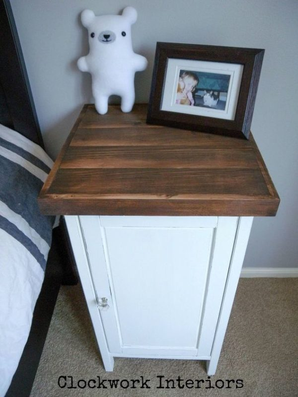 Hemnes nightstand hack