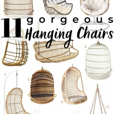 11 Gorgeous Hanging Chairs