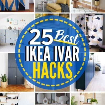 25 INCREDIBLE IKEA Ivar Hacks!