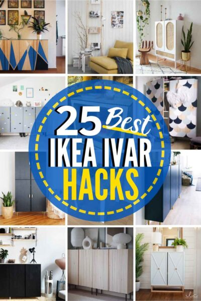 25 INCREDIBLE IKEA Ivar Hacks!