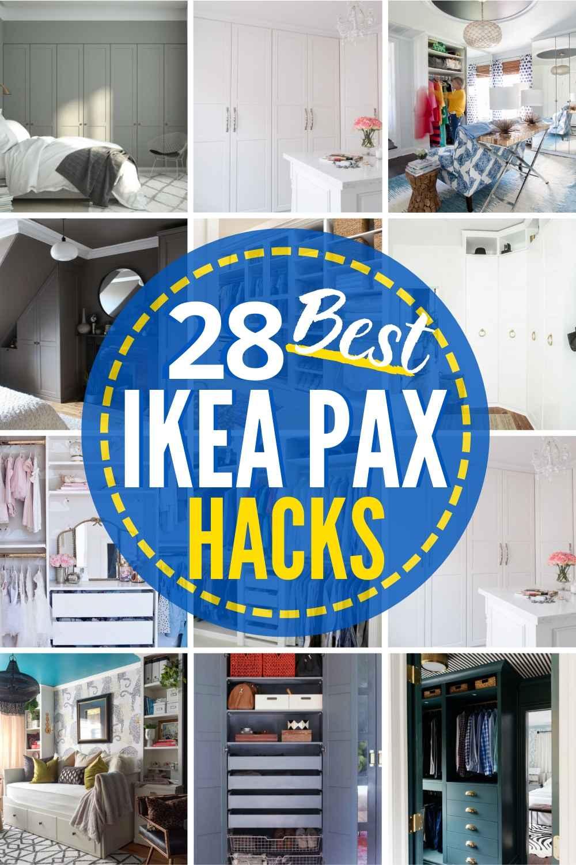 28 IKEA Pax Hacks That RULE!