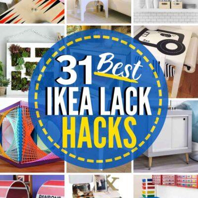 31 Inventive IKEA Lack Hacks You'll Love!