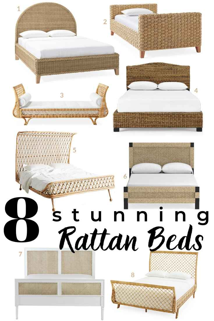 21 Rattan Beds and Daybeds in REAL Homes + 8 Awesome Online Options You Can Buy!