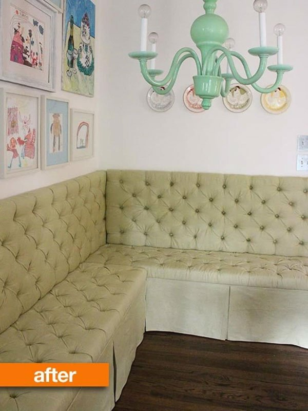 Tufted Bench Ikea Hack