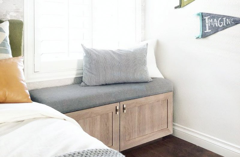 bench seat ikea hack