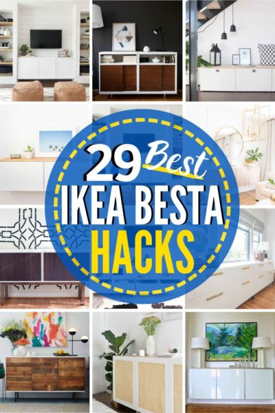These 29 IKEA Besta Hacks are Unbelievable!!