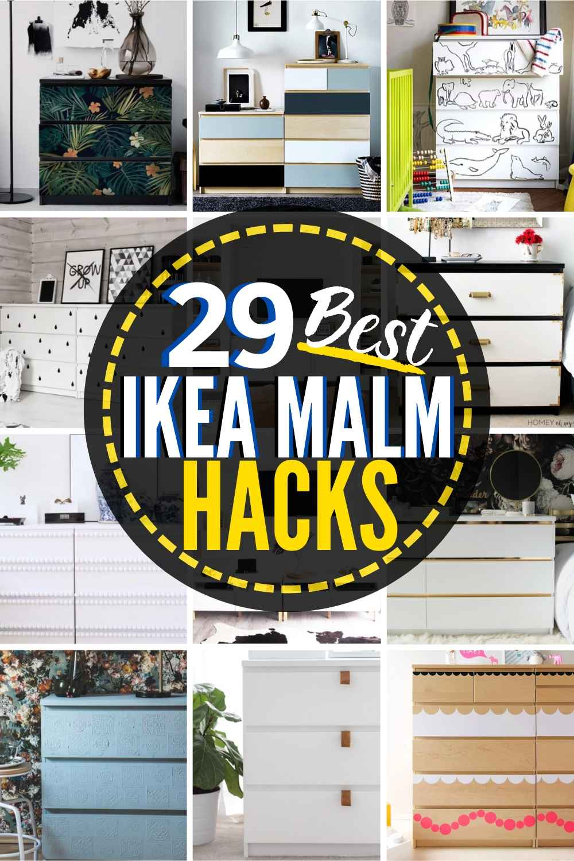 29 Mind-blowing Ikea Malm Hacks!
