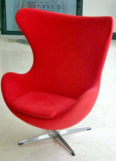 Classic 1950s egg chair