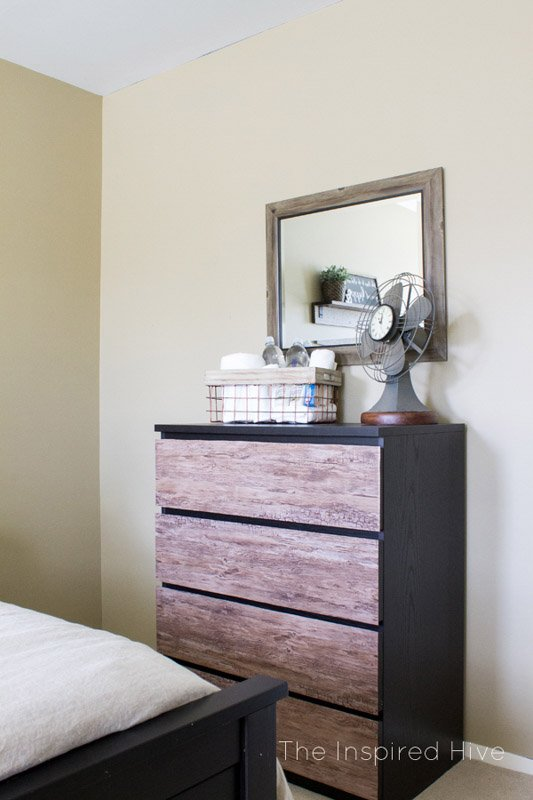 wood grain malm dresser hack