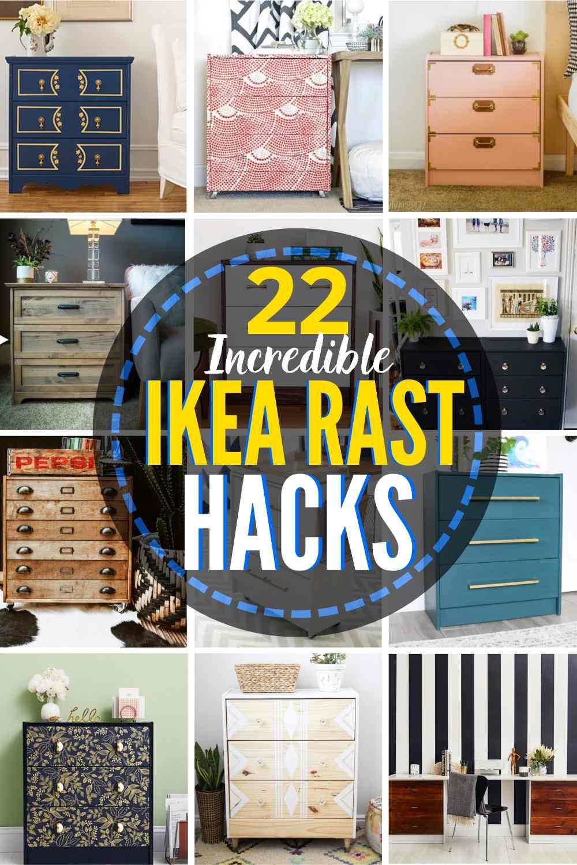 22 Eye-Catching IKEA Rast Hacks!