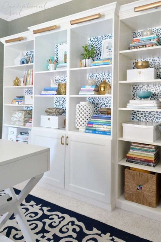26 Innovative Ikea Billy Bookcase Hack Ideas | Centsational Girl
