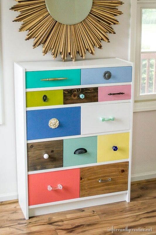 26 Innovative Ikea Billy Bookcase Hack Ideas | Infarrantly Creative