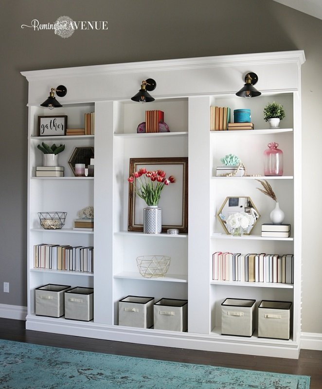 26 Innovative Ikea Billy Bookcase Hack Ideas | Remington Avenue