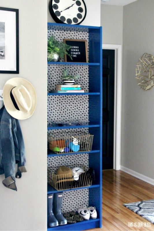 26 Innovative Ikea Billy Bookcase Hack Ideas | This is Our Bliss