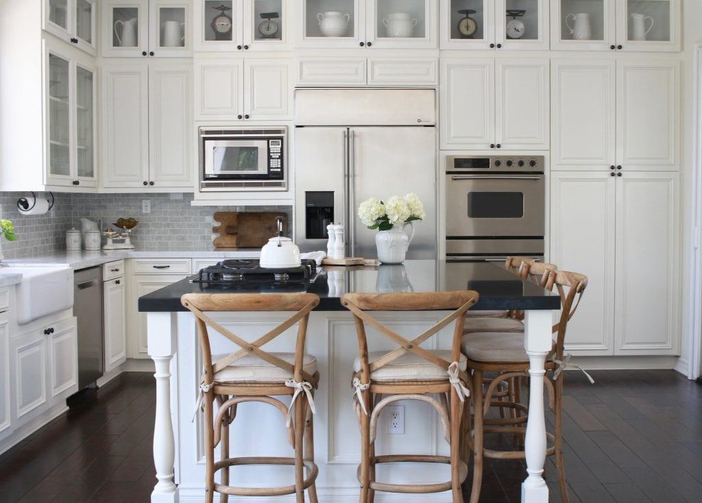 White Dove Kitchen Maison De Cinq
