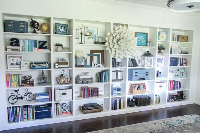 26 Innovative Ikea Billy Bookcase Hack Ideas | Lovely Etc.