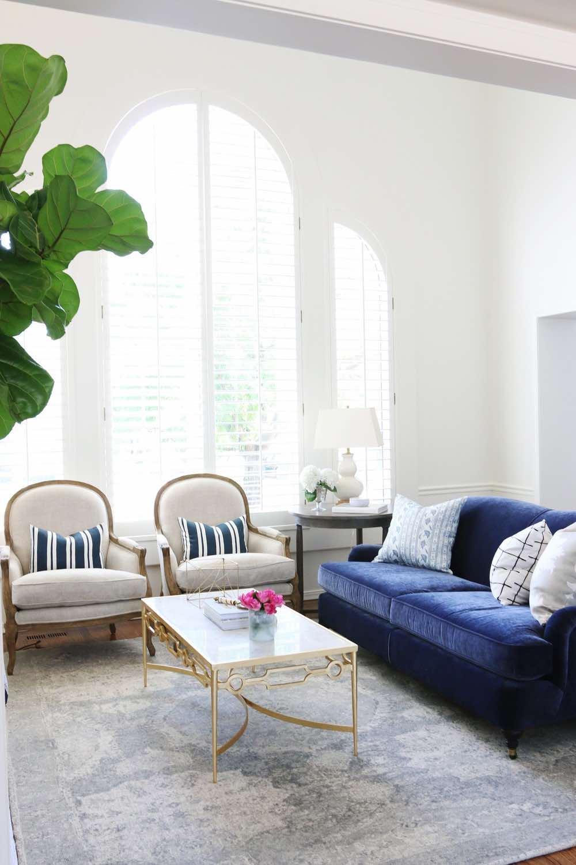 Studio McGee Living Room White Dove