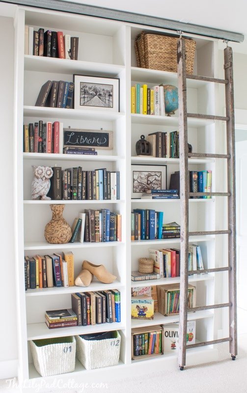 26 Innovative Ikea Billy Bookcase Hack Ideas | The Lilly Pad Cottage