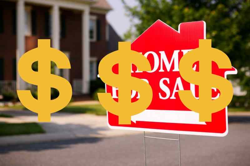 10 reasons your home is not selling -asking price is to high