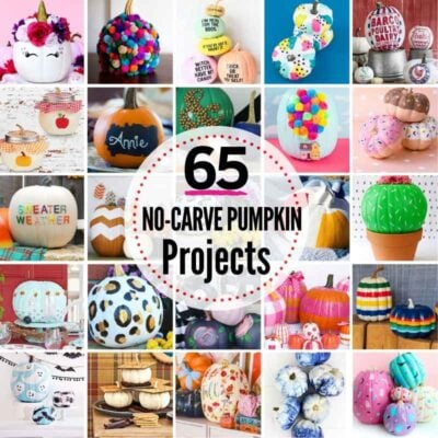 65 PRIZE-WORTHY No-Carve Pumpkin Decorating Ideas!
